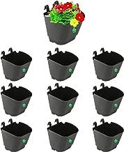 Trust basket Vertical Gardening Pouches (Black) -Set of 10