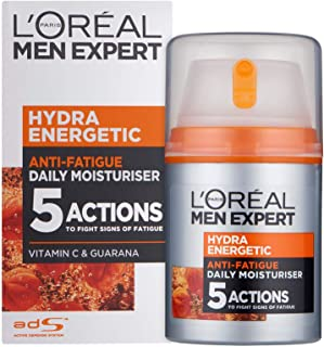 Loreal Paris Men Expert Hydra Facewash with Energetic Moisturiser, 50ml