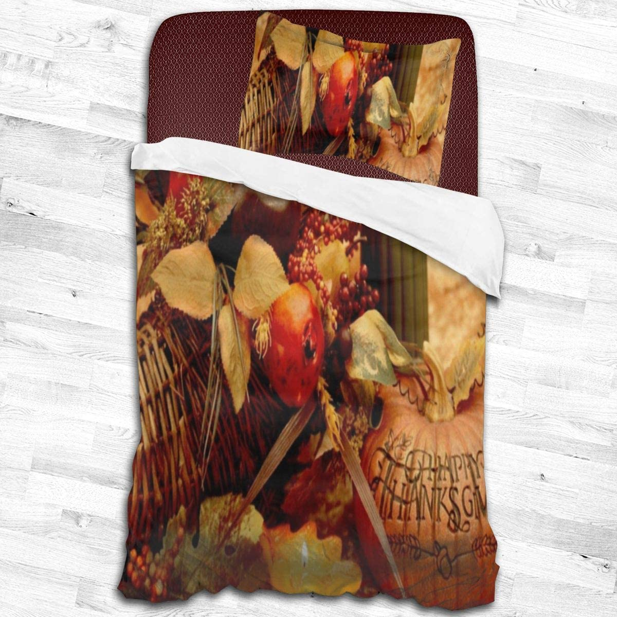 Baliboon Boston Mall Bed Sheet Set Thanksgiving Bedding Sheets Skin- In a popularity Harvest