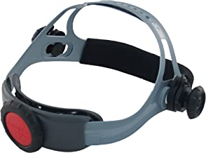 Jackson Safety 370 Replacement Headgear (20696), Adjustable Jackson Welding Helmet Parts, Black and Gray