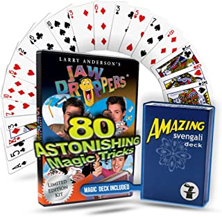 80 Magic Tricks JAW DROPPERS Complete Magic Course - Magic Tricks for Kids & Up