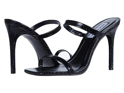 Steve Madden Michelle Heeled Sandal (Black Snake) Women