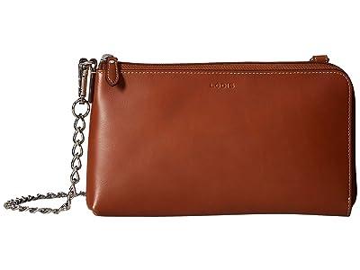 Lodis Accessories Audrey RFID Nova L-Zip Crossbody (Sequoia) Cross Body Handbags