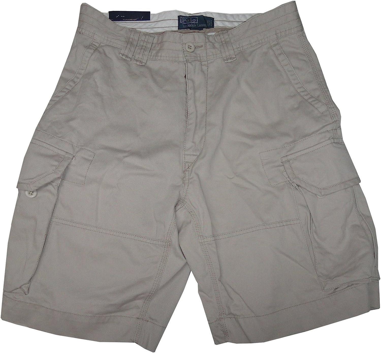 Ralph Lauren Polo Men's Gellar Fatigue Cargo Shorts Beige