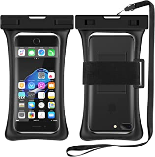 RANVOO [Floating] Waterproof Phone Pouch, Dry Bag Case for iPhone Xs Max XR X 8 Plus 7 Plus 6 6s Plus, Samsung Galaxy S9 Plus S8 Edge Note 8 7, LG G5 G6, up to 6.8