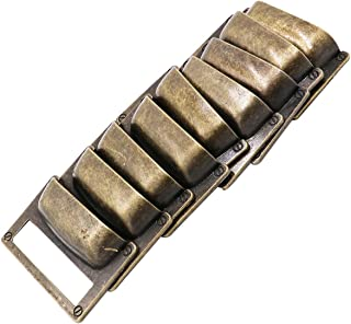 LGEGE 18pcs Bronze Drawer Label Pull Home Cabinet Frame Handle File Name Card Holder Cabinet Frame (Length: 81mm Width: 51mm)