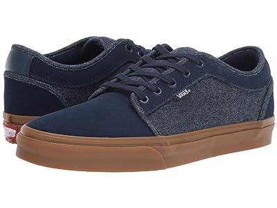 Vans Chukka Low ((Denim) Dress Blues/Classic Gum) Skate Shoes