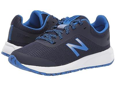New Balance Kids 455v2 (Little Kid/Big Kid) (Navy/Vivid Cobalt) Boys Shoes
