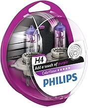 Philips ColorVision Bombilla para faros delanteros morada 12342CVPPS2 - bombilla para coches (60W, H4/H7, Fog light, High beam, Luz interior, Low beam, Parking light, Signaling, Stop light)