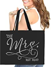 Bride Tote - The Mrs. est. 2019 or 2020 JUMBO SIZE 18