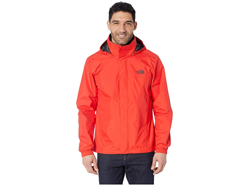 The North Face Resolve 2 Jacket (Fiery Red/Asphalt Grey) Men