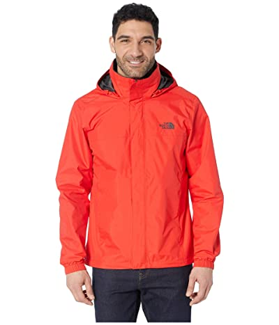 The North Face Resolve 2 Jacket (Fiery Red/Asphalt Grey) Men