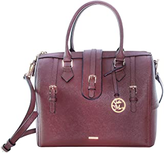 Stella Maris Satchels Bag for Women - Leather, Brown