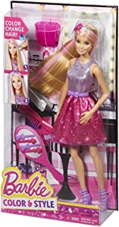 Barbie Hair Color and Style Doll