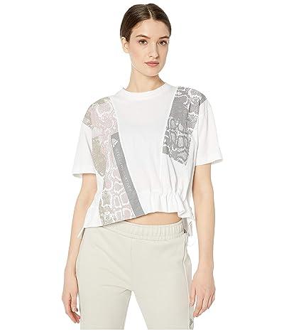adidas by Stella McCartney Digi Print Graphic Tee FK9689 (White) Women