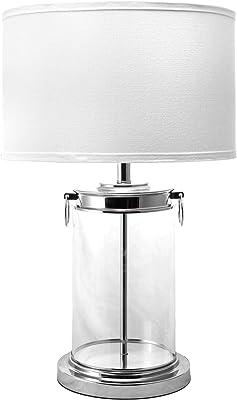 "nuLOOM Auburn 26"" Glass Table Lamp"