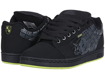 etnies Metal Mulisha Barge XL (Black/Lime) Men