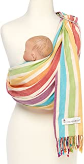Hip Baby Wrap Ring Sling Baby Carrier for Infants and Toddlers (mediterranean)