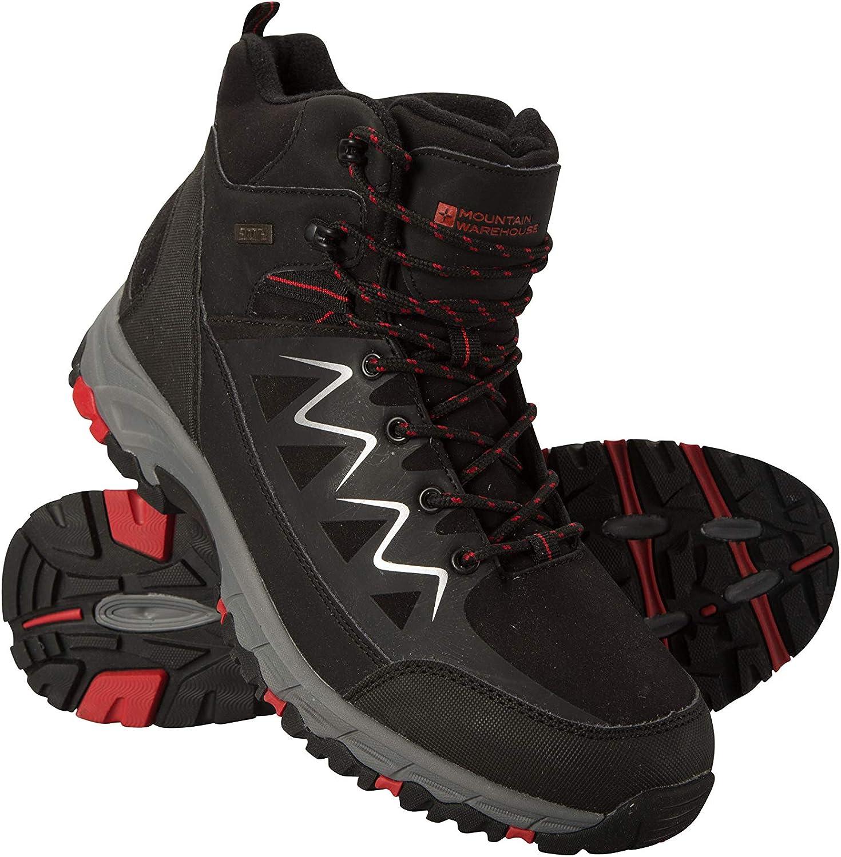 Mountain Warehouse Trekker Mens Waterproof Softshell Boots