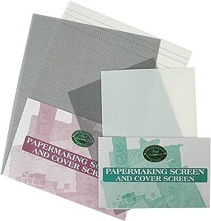Arnold Grummer Medium Size Papermaking Screen, 6-1/4 x 9-1/4 Inch,White