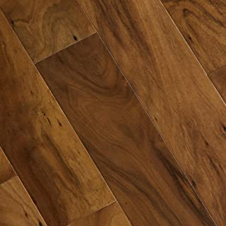 Hand Scraped Natural Acacia 1/2 in. T x 4-3/4 in. W x 47-1/4 in. L Engineered Hardwood Flooring (24.94 sq. ft. / case)