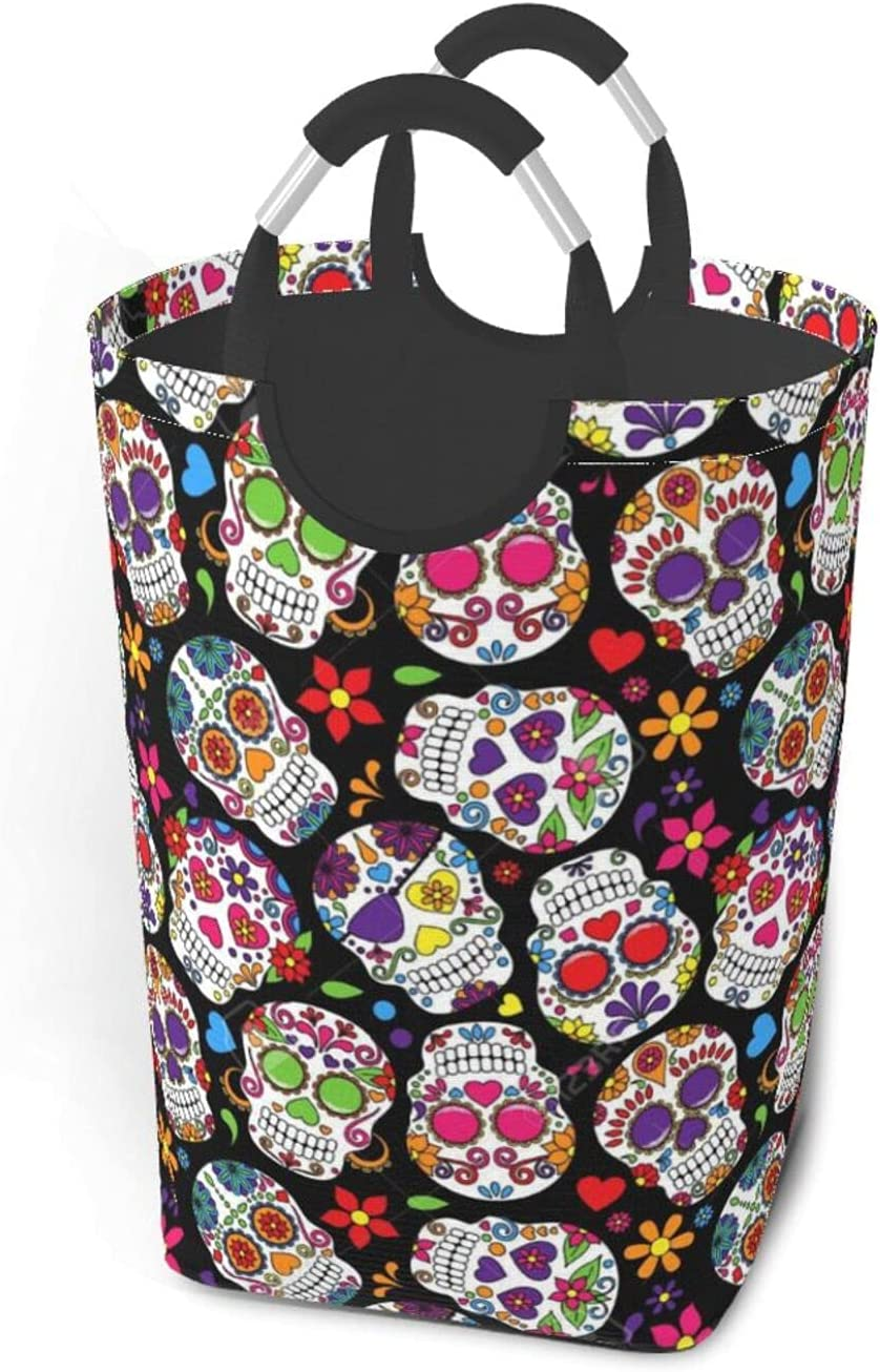 Skulls Large Dirty Clothes Bag Don't miss the 35% OFF campaign Portable With S