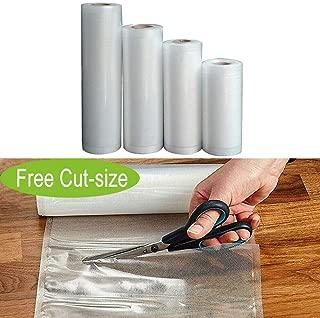 Food Saver Bags Rolls Vacuum Sealer Bags BPA Free Freezer Vacuum Bags for Sous Vide Cooker and Vaccum Food Sealer Machines