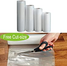 Food Saver Bags Rolls Vacuum Sealer Bags BPA Free Freezer Vacuum Bags for Sous Vide Cooker and Vaccum Food Sealer Machines