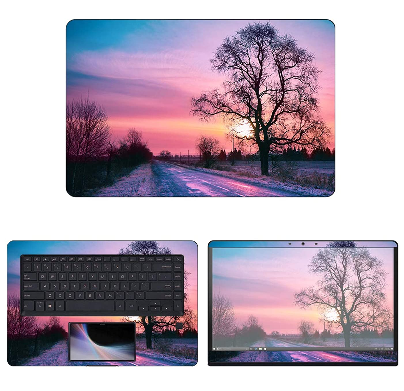 decalrus - Protective Decal Skin Sticker for Asus ZenBook Pro UX580GD (15.6