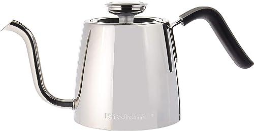 wholesale KitchenAid Precision lowest Gooseneck Stovetop Kettle, 1 wholesale Liter, Stainless Steel sale