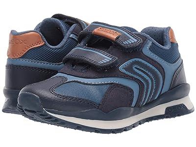 Geox Kids Jr Pavel 23 (Little Kid) (Navy) Boys Shoes