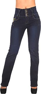 Plus/Junior Size Butt Lifting Levanta Cola High Waist Boot Leg Jeans