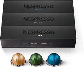 Nespresso Capsules VertuoLine, Best Seller Variety Pack, Medium and Dark Roast Coffee, 30..