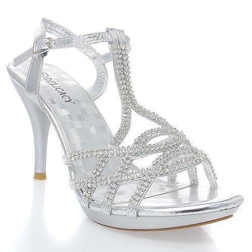 Womens Rhinestone Shoes: Amazon.com