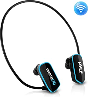 Pyle Upgraded Waterproof MP3 Player – V2 Flextreme Sports Wearable Headset Music..