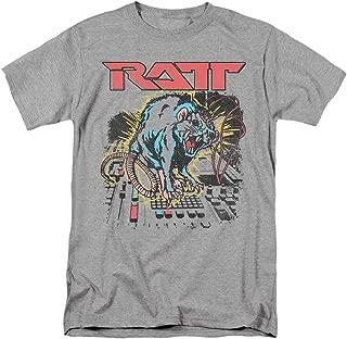 RATT 80's Rock Band Shocked T Shirt & Stickers