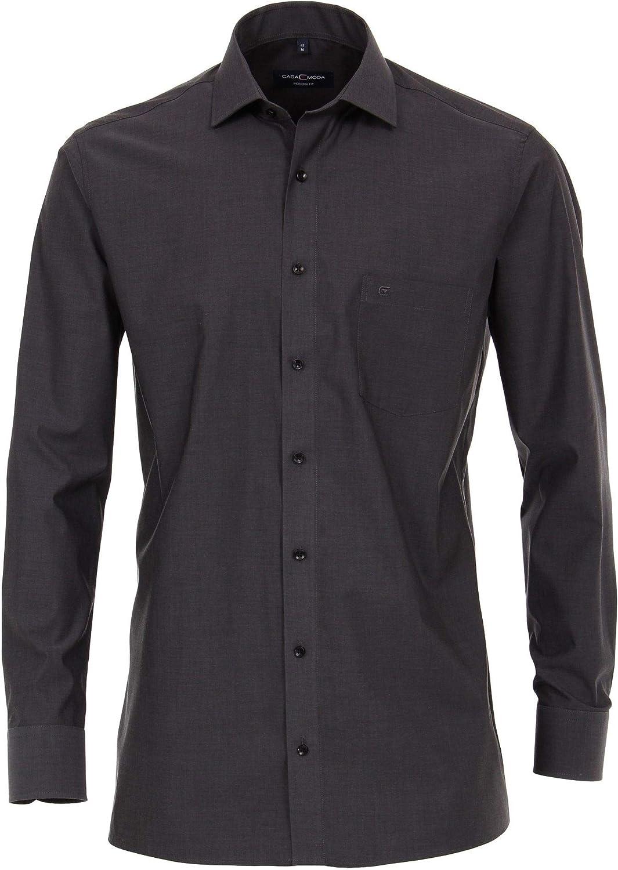 Casa Fit 006530 - Camisa para Hombre con Cuello Kent: Amazon ...