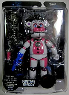 Funko Articulated Action Figures Five Nights at Freddys Sister Location Funtime Freddy