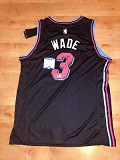 aa8de44840b Signed Dwyane Wade Jersey - Vice Beckett Cert Bas - Beckett Authentication  - Autographed NBA Jerseys