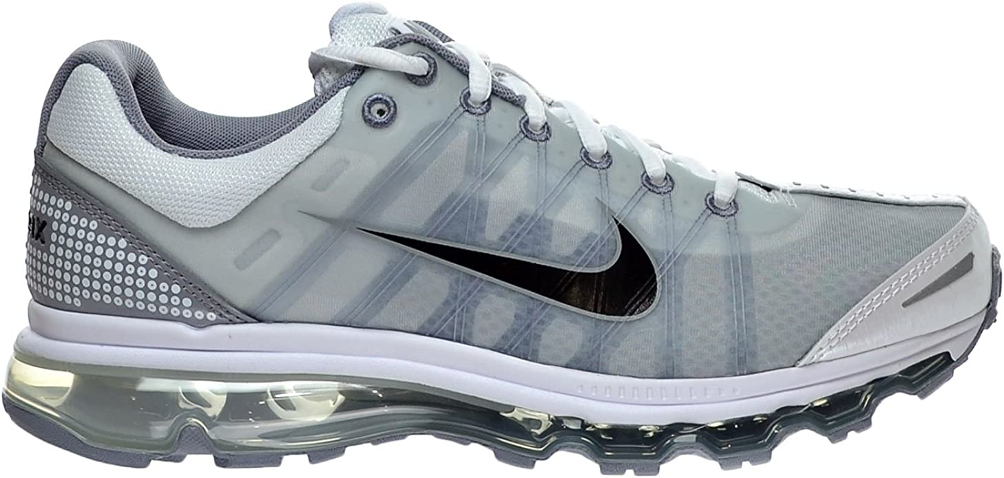 Amazon.com   Nike Air Max 2009 Men's Shoes White/Black/Stealth ...