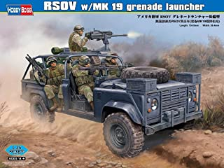 Hobby Boss RSOV with MK 19 Grenade Launcher Vehicle Model Building Kit