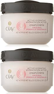 Olay Active Hydrating Cream, 2 Ounce (Pack of 2)