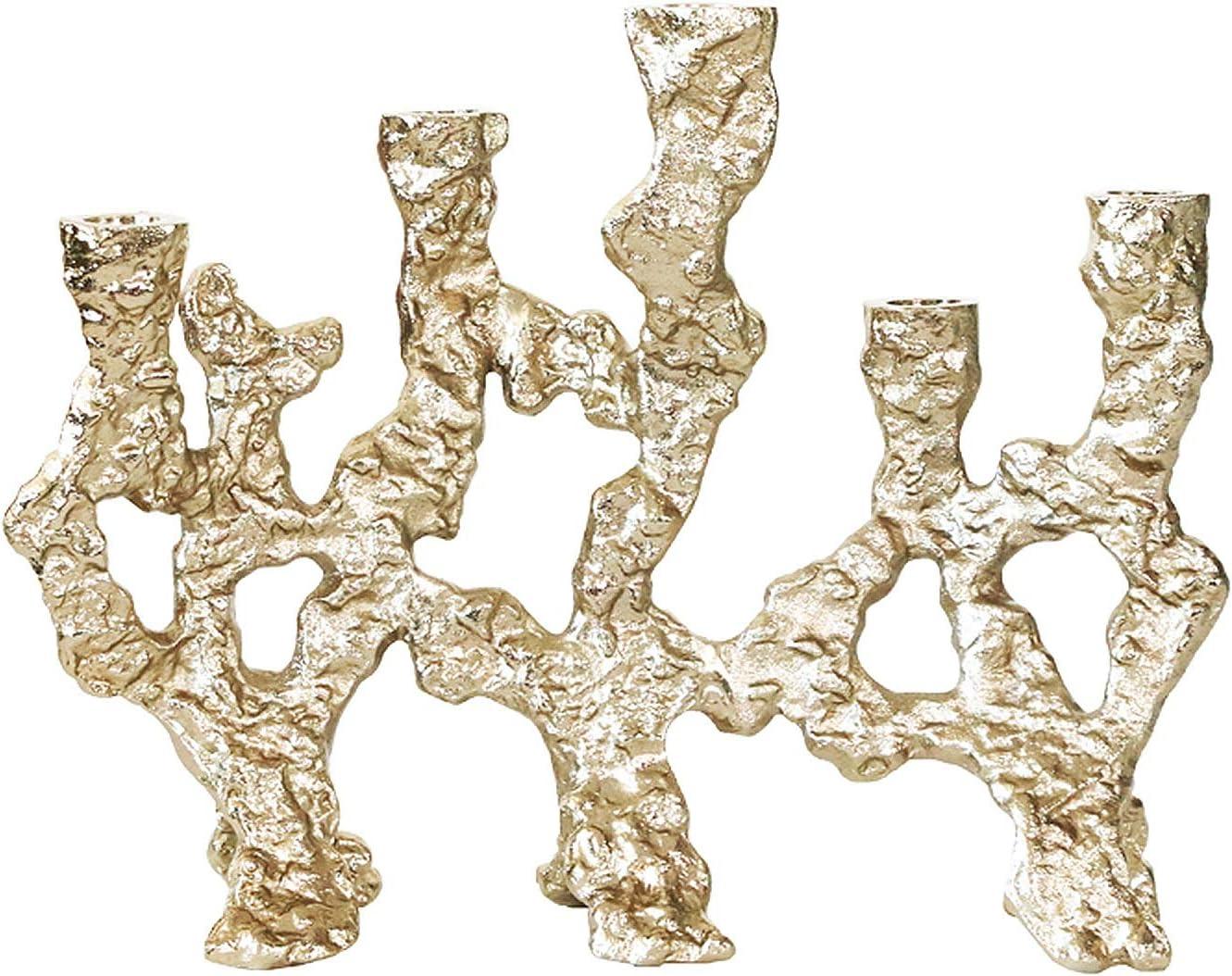 DUOWEI Creativity Candle Holder Candl Fashion Irregular Five-Head Metal Max 83% OFF