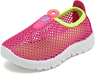 CIOR Toddler Kids Water Shoes Breathable Mesh Running Sneakers Sandals for Boys Girls Running Pool Beach