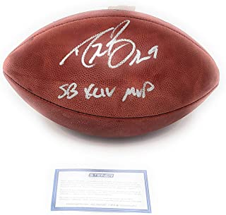 Drew Brees New Orleans Saints Signed Autograph Super Bowl XLIV Authentic NFL Duke Football INSCRIBED Steiner Sports Certified