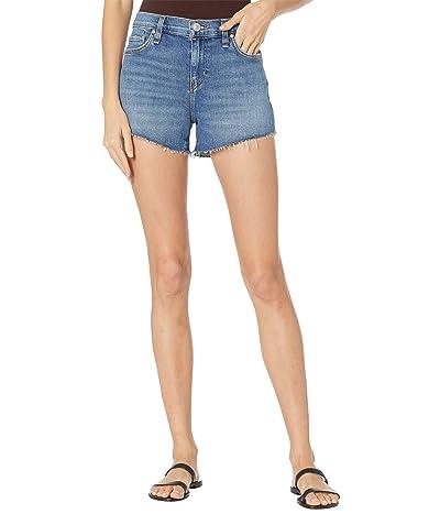 Hudson Jeans Gemma Mid-Rise Cutoffs Shorts in Habitual Women
