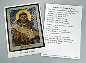 St. Francis of Assisi Peace Prayer Cards - Set of 100