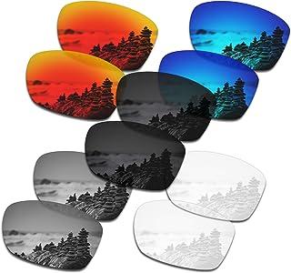 SmartVLT Set of 5 Men's Replacement Lenses for Oakley Jupiter Squared Sunglass Combo Pack S01