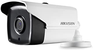 Hikvision 5MP Turbo HD 4-in-1 EXIR Bullet Analog Camera with 2.8mm Fixed Lens, IR 40M, IP67 DS-2CE16H0T-IT3F(2.8MM)[switchable up to 5MP HD-TVI/AHD, up to 4MP HD-CVI, CVBS]