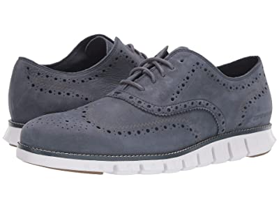 Cole Haan Zerogrand Wing Ox (Ombre Blue Nubuck/Nimbus Cloud) Men